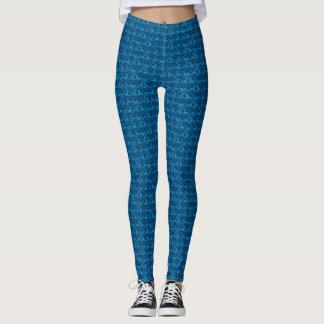 Leggings Azul de Tritty Foxtrotter