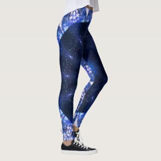 Leggings Azul: Luz contra oscuridad