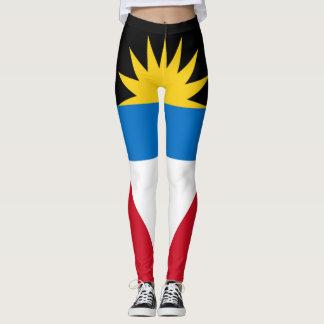 Leggings Bandera de Antigua llena