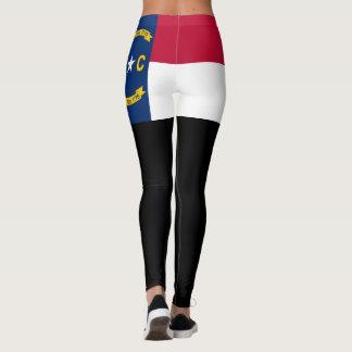 Leggings Bandera de Carolina del Norte