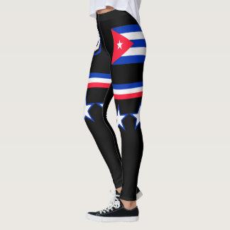 Leggings Bandera de Cuba