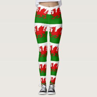 Leggings Bandera de País de Gales Galés Baner Cymru