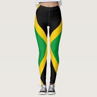 Leggings Bandera jamaicana por completo