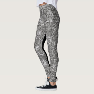 Leggings blacklacedout