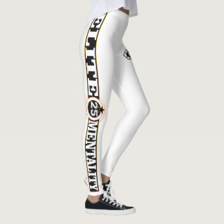 Leggings Blanco-Polainas