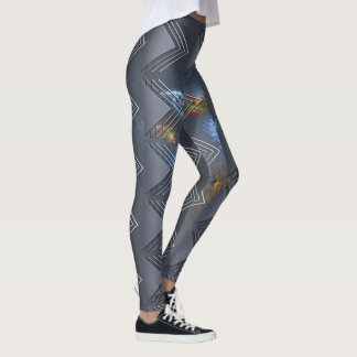 Leggings Blue Line fino - OctoSpace