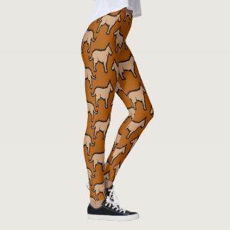Leggings BUENAS POLAINAS del PERRO por Slipperywindow