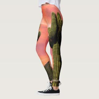 Leggings Cactus gigante del Saguaro, polainas conocidas