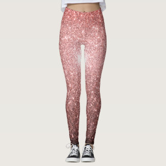Leggings Chispas del rosa