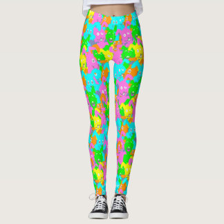 Leggings CONEJITO de PASCUA LOCO por Slipperywindow