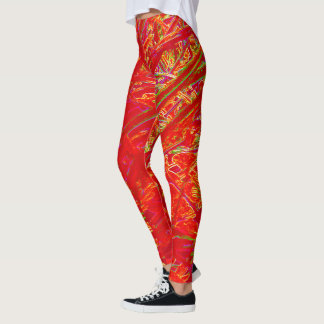 Leggings Corredores rojos