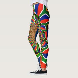 Leggings Cree su propia Suráfrica hermosa colorida