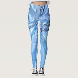 Leggings Cristales azules