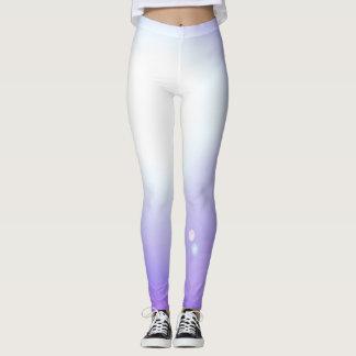 Leggings Deportes púrpuras del entrenamiento de la moda de
