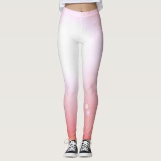 Leggings Deportes rosados del entrenamiento de la moda de