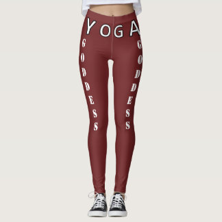 Leggings ¡Diosa de la yoga - alabanzas y alzas su botín!!
