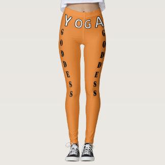 Leggings ¡Diosa de la yoga - alabanzas y elevaciones su