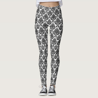 Leggings Diseño blanco y negro