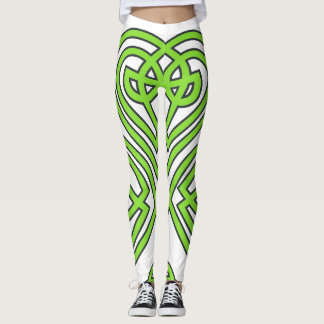 Leggings Diseño céltico del trébol