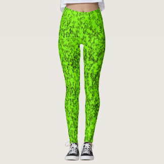 Leggings Diseño verde