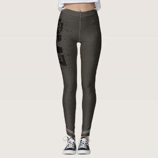 Leggings DMZ (en grey#2) polainas en gris oscuro