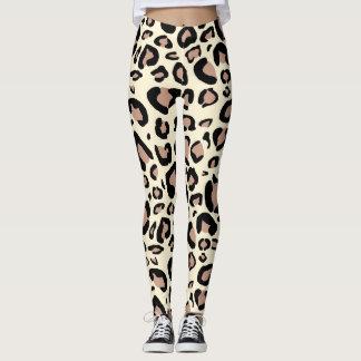 Leggings El leopardo mancha las polainas