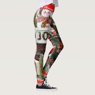 Leggings ¡El navidad que las polainas personalizan lo dejó