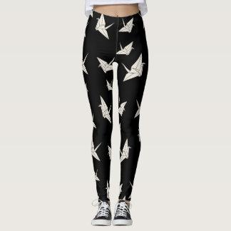 Leggings El papel cranes el modelo