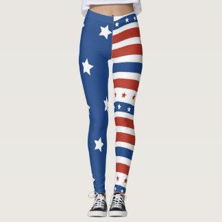 Leggings El patriota americano guarda la gran vieja gloria