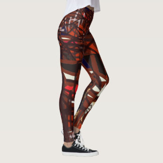 Leggings El rojo, los negros y los colores oscuros