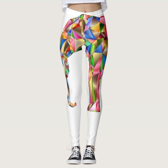 Leggings Elefante colorido