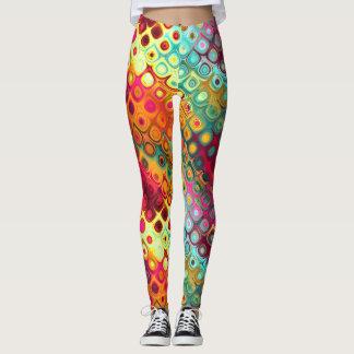 Leggings Ensueños coloridos del extracto