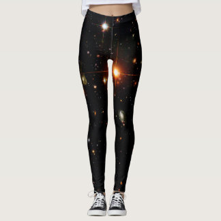 LEGGINGS ESPACIO PROFUNDO ASTROPHOTO DE HUBBLE