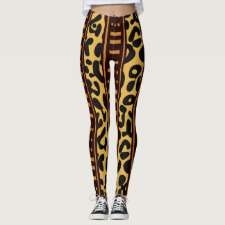 Leggings Estampado leopardo salvaje