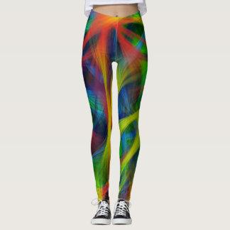 Leggings Fibras abstractas