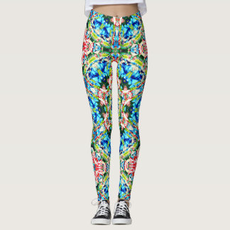 Leggings Floral - caleidoscopio
