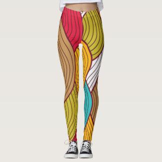 Leggings Flujo colorido
