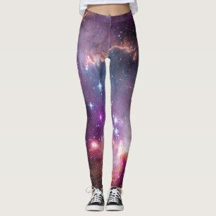 Leggings Foto de la estrella del inconformista del espacio