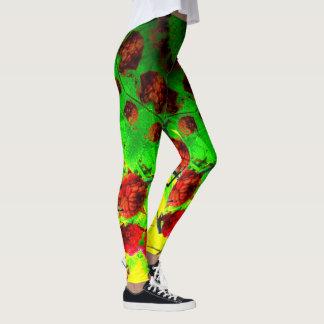 Leggings Frambuesas del fractal