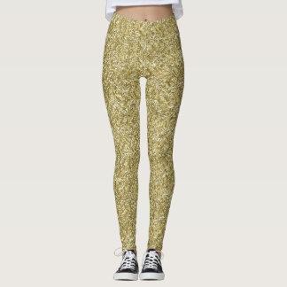 Leggings galón del oro