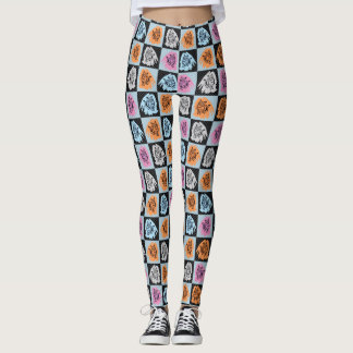 Leggings Gatos a cuadros