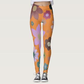 Leggings Grunge floral