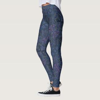 Leggings HAMbyWG - polainas - gitano persa azul