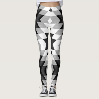 Leggings Hieroglyphics indígenas