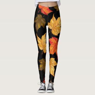 Leggings Hojas de otoño (temporada de otoño)
