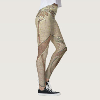 Leggings HotLeggings - diseño floral simple