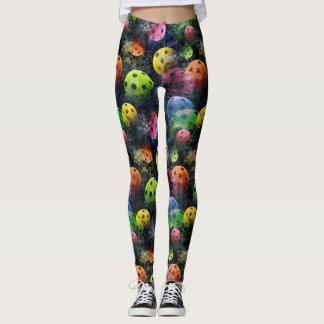 Leggings Impresión de Pickleball