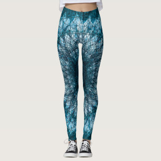 Leggings Índigo Blue Mandala