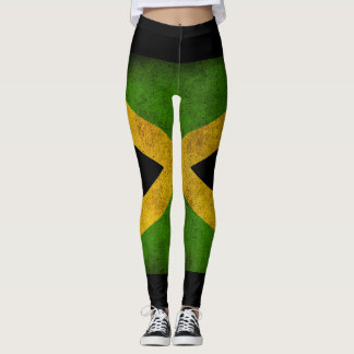 Leggings Jamaica Flag - Proud Jamaicans yoga ginebra de