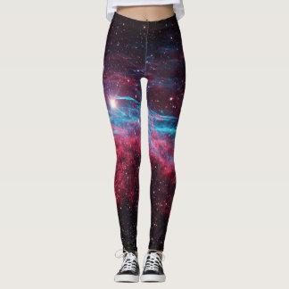 Leggings La nebulosa de la galaxia protagoniza las polainas